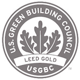 Sustainable Workplace - U.S. Green Building Council (USGBC) LEED Gold