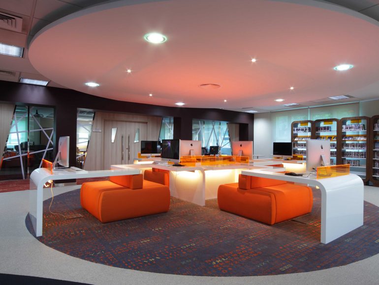 Abu Dhabi Women's College Fit Out