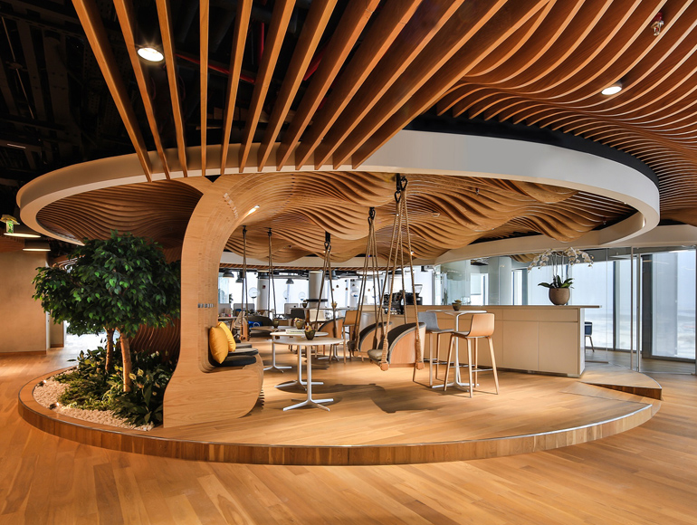 LEED Gold Certification for Smart Dubai's interior