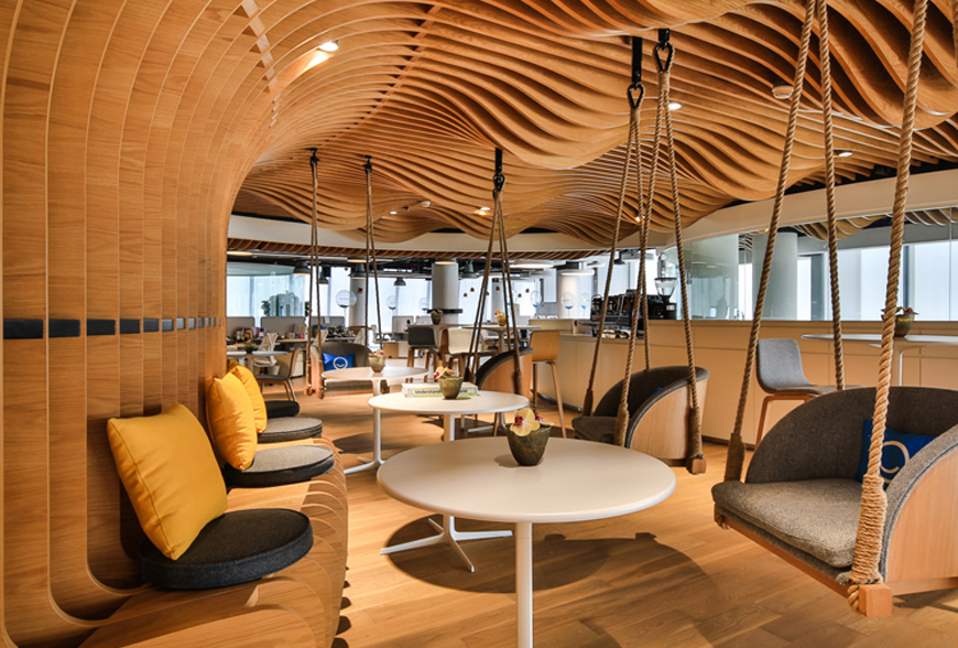Fun Workplace Interior | Sustainable Fit Out Trends