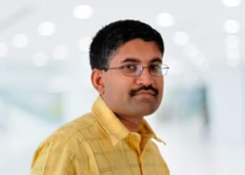 Close up image of Sunil Nambiar