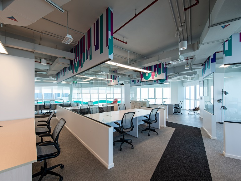 Deliveroo office fit out