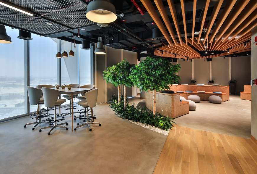 environmentally sustainable workplace in Dubai
