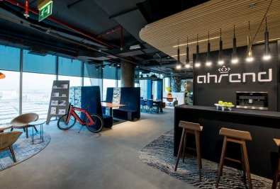 Sustainable Workplace - Ahrend's LEED Gold Certified Interior