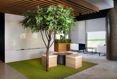 Indoor Greenery | Sustainable Fit Out Trends