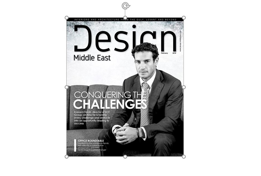 Design Middle East Front Cover | Sustainable Fit Out Trends