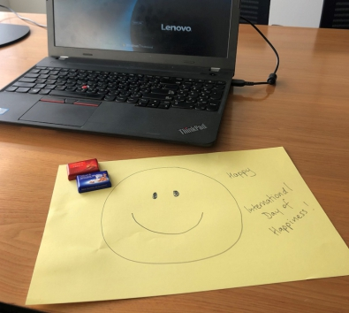 Workplace Happiness Cover - Image of Smiley