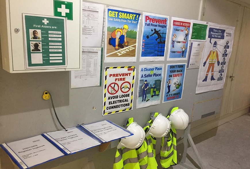 Health and Safety at Work Posters