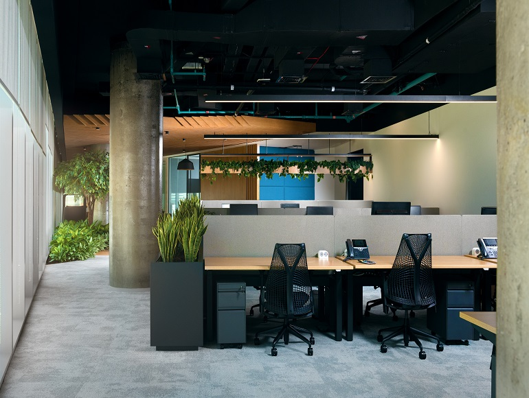 Green Sustainable Fit Out at Smart Dubai Government