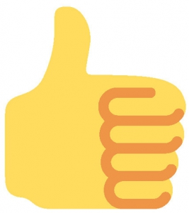 Employee Recognition - Thumbs Up Icon