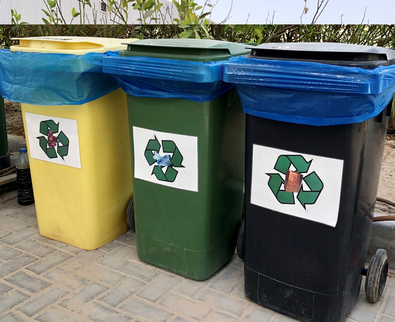 Summertown Office Recycling Bins