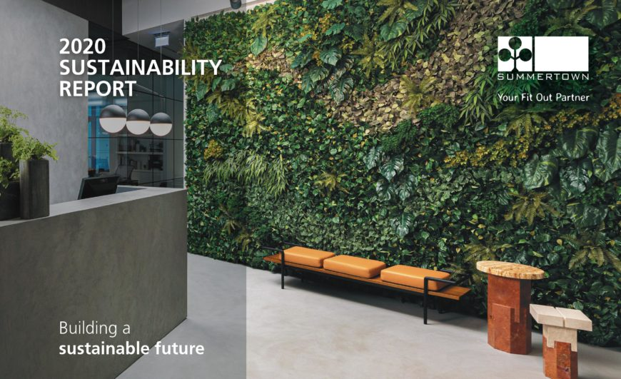 2020 Sustainability Report cover
