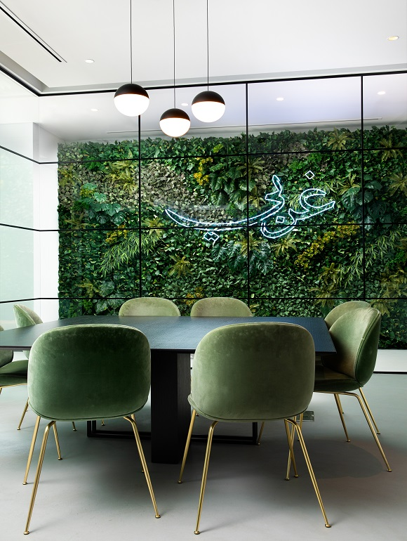 Biophilic Element in Office Fit Out